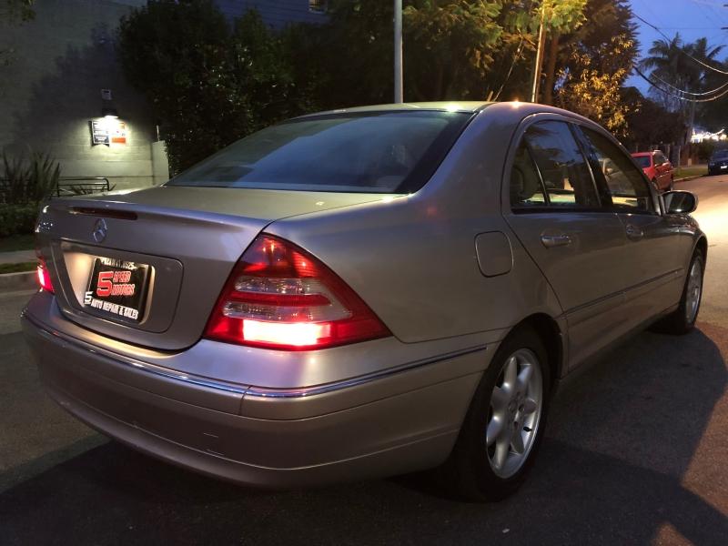 Mercedes-Benz C-Class 2003 price