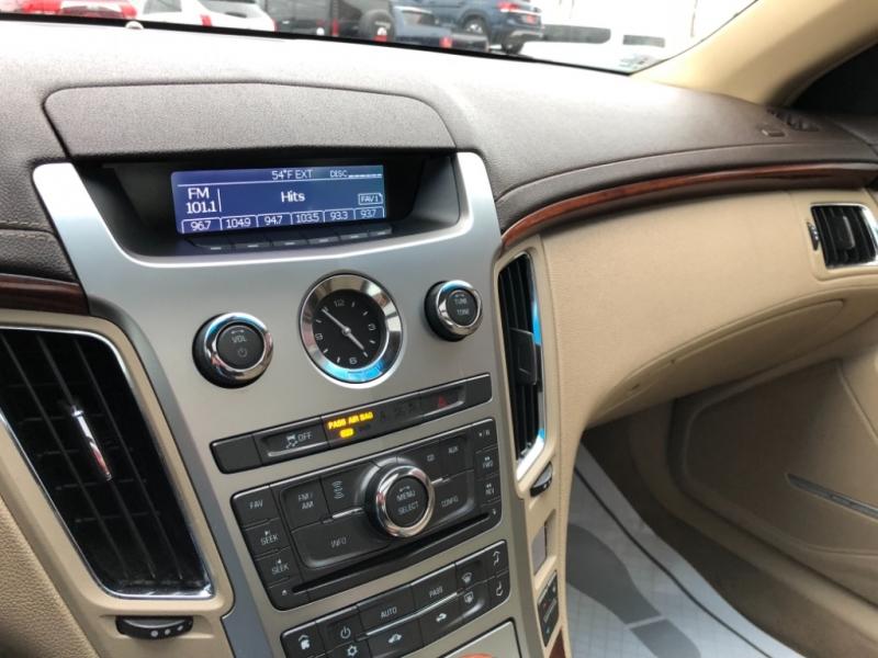 Cadillac CTS Sedan 2012 price $10,997