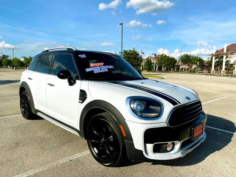 Mini Countryman 2018 price $21,997