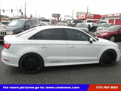 2016 Audi S3 Sedan quattro 2.0T PRESTIGE Package LOW MILES!!