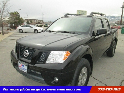 2012 Nissan Frontier 4WD Crew Cab Pro-X4, Luxury Package, 88k Miles!!