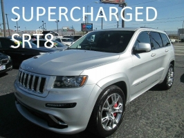 Jeep Grand Cherokee SRT8 Supercharged 2012