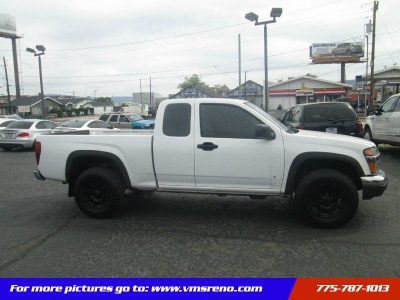 2008 Chevrolet Colorado 4WD Ext Cab 125.9 Work Truck