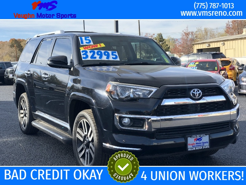 Toyota 4Runner 4WD Limited 3RD ROW SEATING!! 53K Miles!! 2015 price $31,995