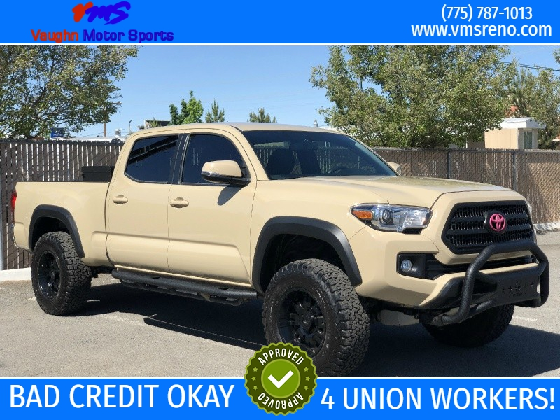 2017 Toyota Tacoma Lifted >> 2017 Toyota Tacoma Trd Off Road Double Cab 6 Bed V6 4x4 At Vaughn
