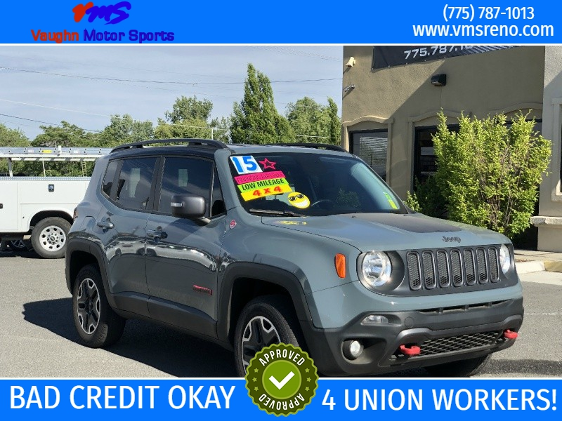 Jeep Renegade Trailhawk, LOW MILES, FIRST TIME BUYER!!! 2015 price $19,495