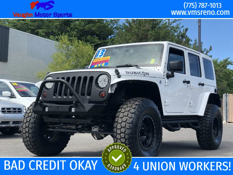 Tires For Jeep Wrangler >> 2013 Jeep Wrangler Unlimited Rubicon 37in Tires Loaded 4wd 4dr Rubicon
