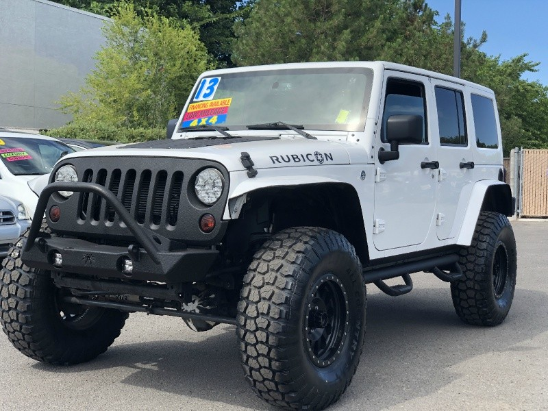 Jeep Wrangler Unlimited Rubicon, 37in Tires, LOADED!!! 2013 price $29,495