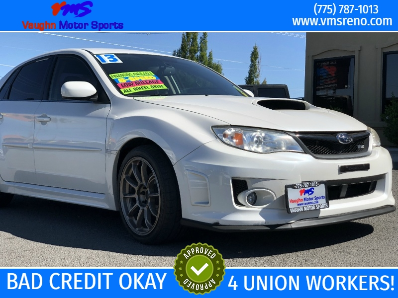 Subaru Impreza Sedan WRX, ONLY 73K MILES, CLEAN, WHEELS!! 2013 price $17,395