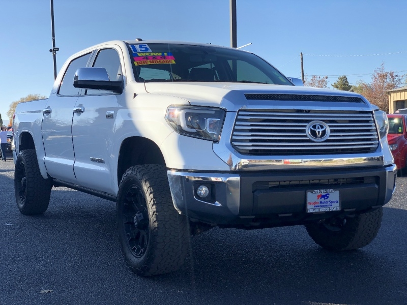 Toyota Tundra 4WD Limited, Loaded, Low Miles, Wheels!!!! 2015 price $33,839