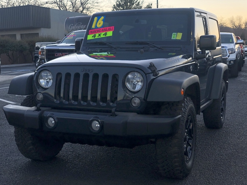 Jeep Wrangler Sport WILLYS, CLEAN, LOW MILES, HARD TOP! 2016 price $23,495