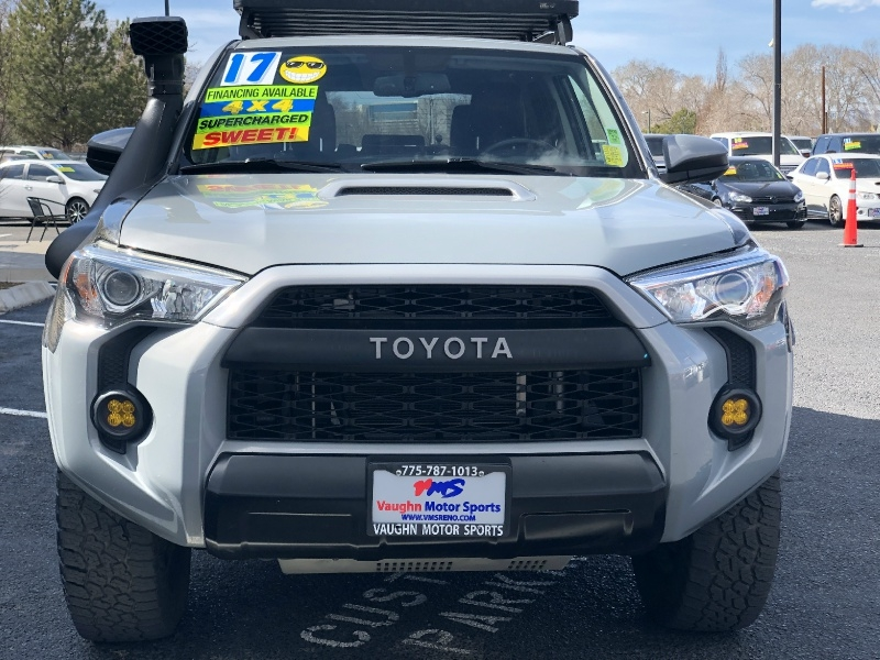 Toyota 4Runner TRD Pro, Supercharged, Low Miles, Tons of  2017 price $44,595
