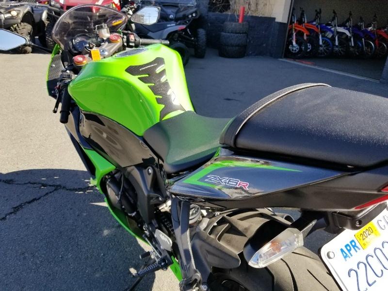 Kawasaki ZX636EDF Ninja ZX-6R 2013 price $6,995