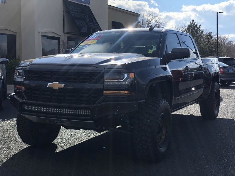 Chevrolet Silverado 1500 4WD, ONLY 7K MILES, LIFTED, KING SH 2017 price $37,695