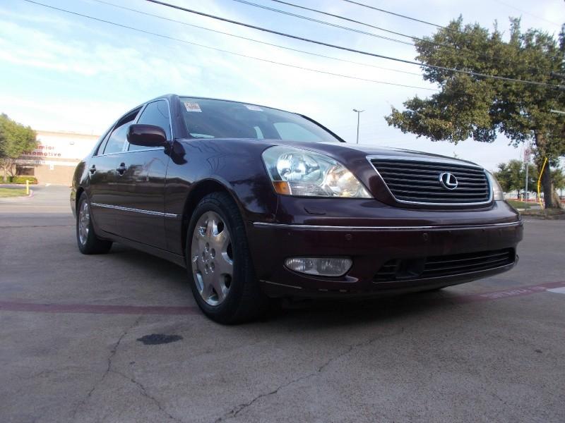 Lexus LS 430 2002 price $2,400
