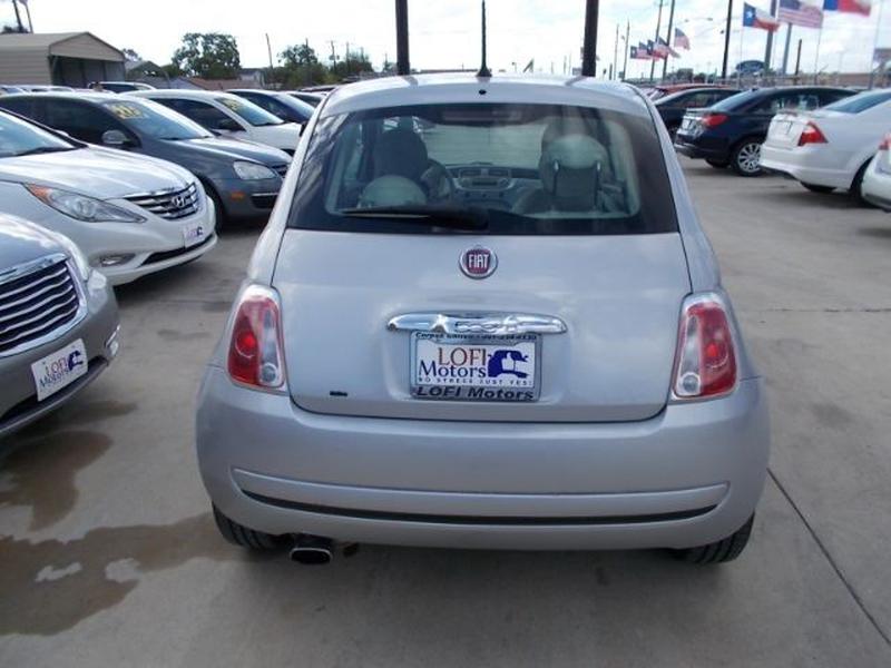 Fiat 500 2013 price $0