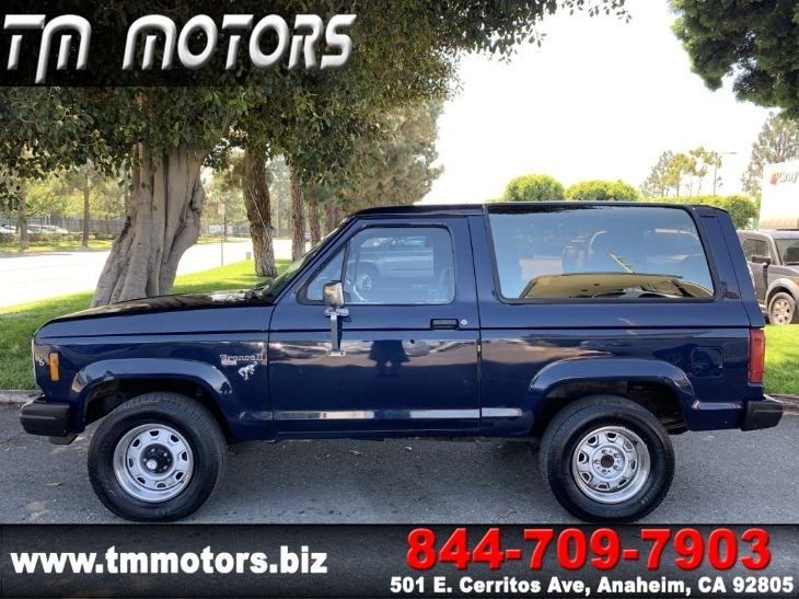 Ford Bronco 2 >> 1984 Ford Bronco Ii 4wd