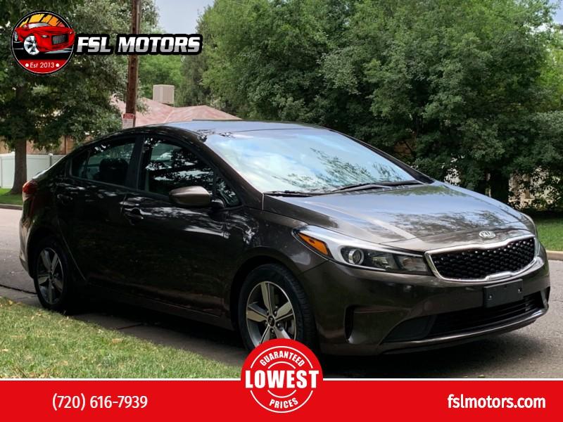 Kia FORTE 2018 price $14,499