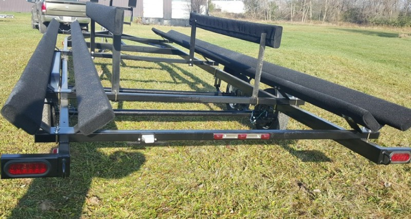 20 Foot Wolverine Pontoon Trailer All Star Painted Tandem Bunk 2019 price Call Us