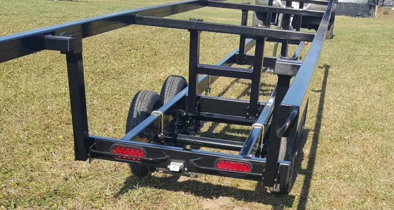 Wolverine 24 Foot Pontoon Trailer All Star Painted Tandem Crank Up 2019 price Call Us