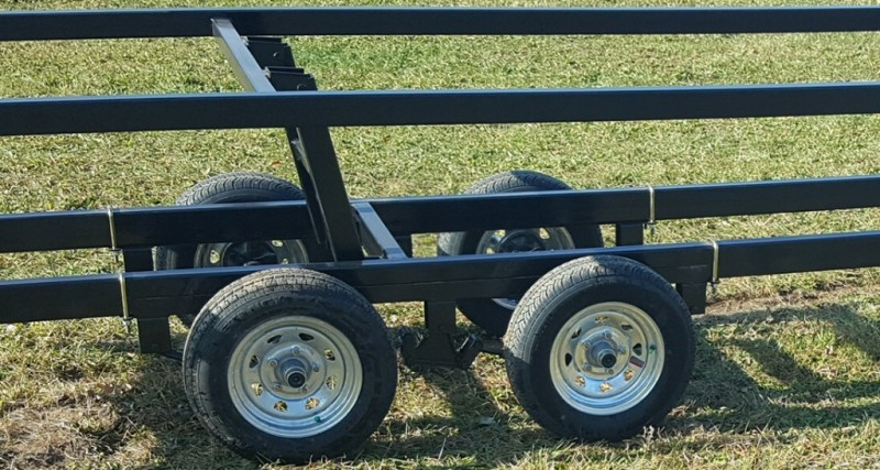 Wolverine 26 Foot Pontoon Trailer All Star Painted Tandem Crank Up 2019 price Call Us