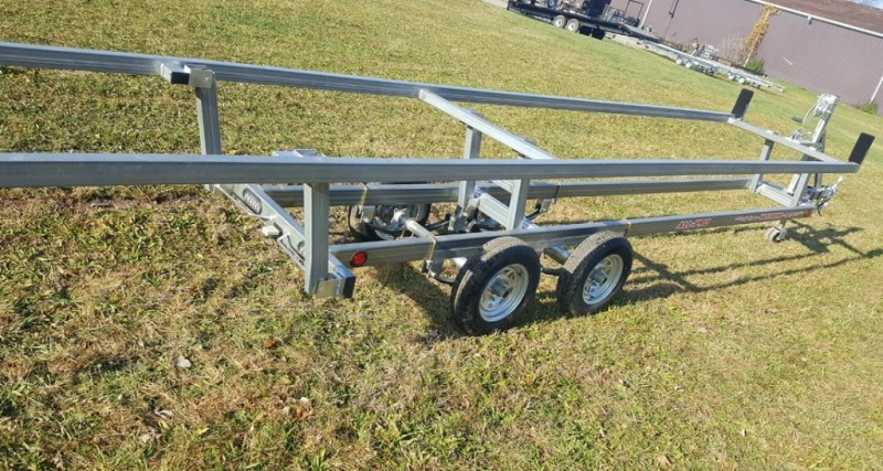 Wolverine 22 Foot Pontoon Trailer All Pro Galvanized Tandem Crank Up 2019 price Call Us