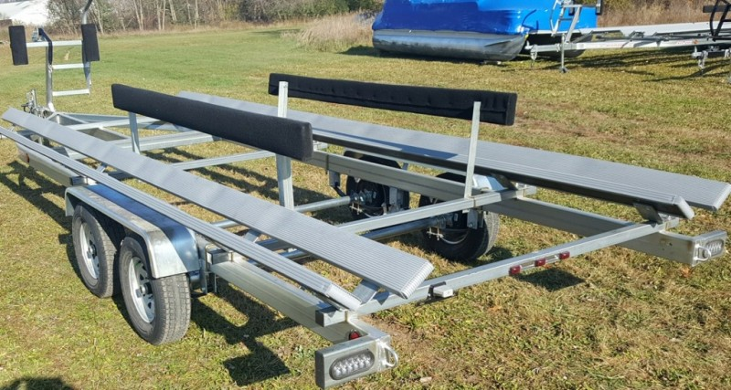 Wolverine 24 Foot Pontoon Trailer All Pro Galvanized Tandem Bunk 2019 price Call Us