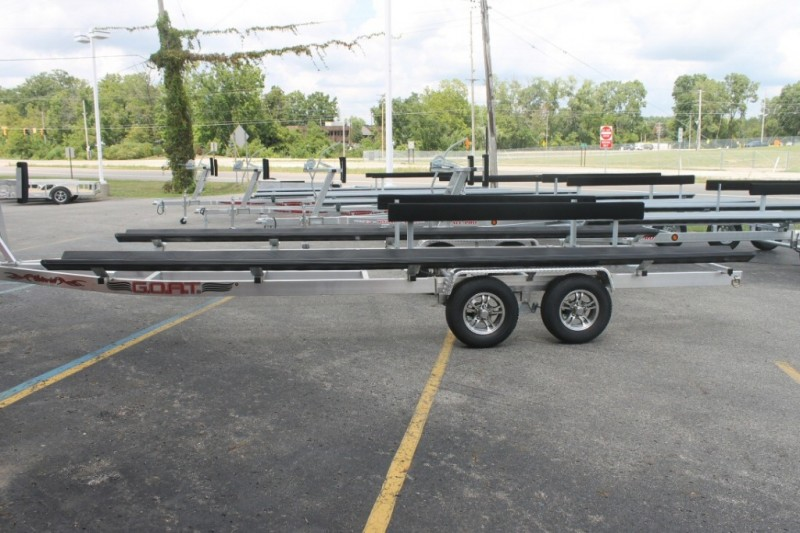 Wolverine 20 Foot Pontoon Trailer G.O.A.T Aluminum Tandem Bunk 2019 price Call Us