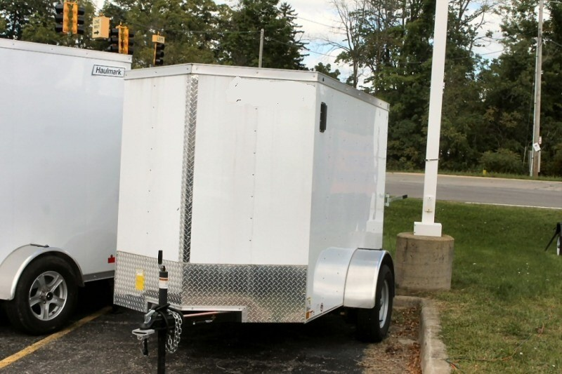 Pure Michigan Enclosed 5x8 Trailer 2018 price $2,679