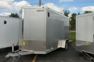Haulmark Aluminum 6x12 Enclosed Trailer 2018