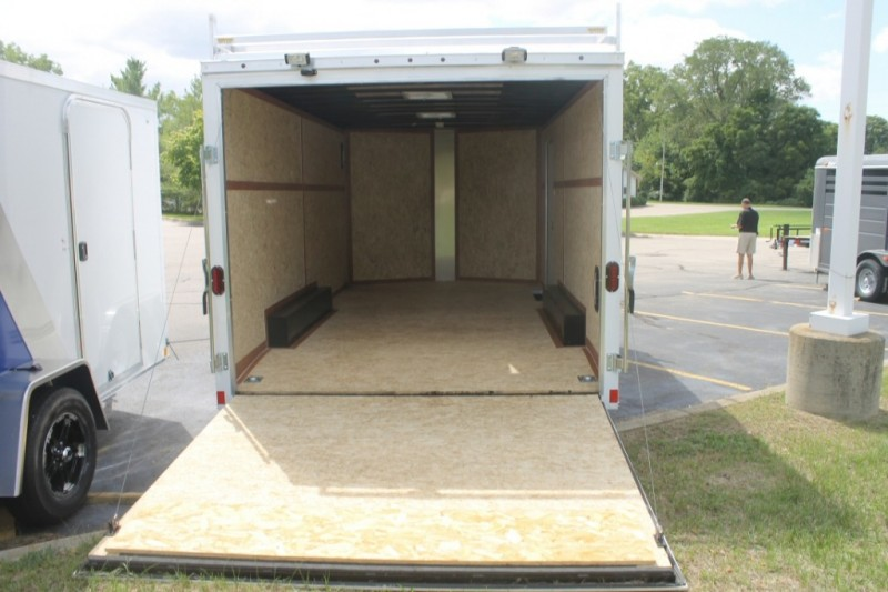 Haulmark 8x16 Enclosed Trailer 2018 price $7,130