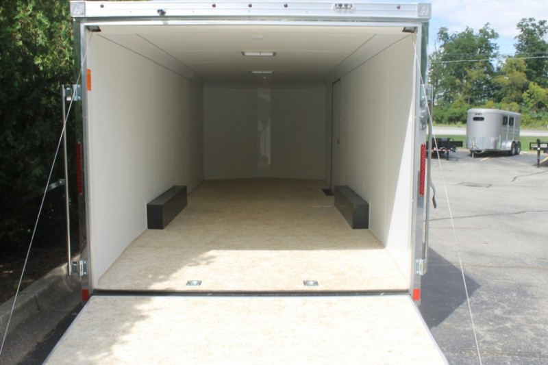 Haulmark 8.5x24 Car Hauling Enclosed Trailer 2018 price $9,500