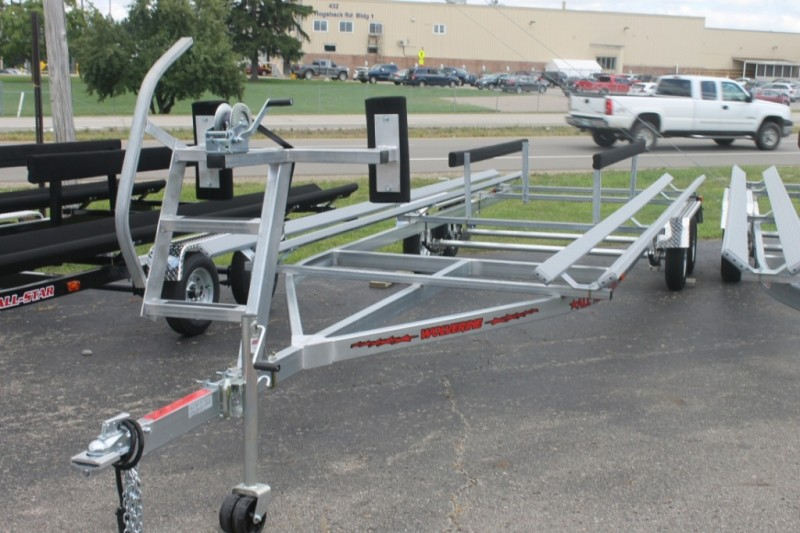 Wolverine 20 foot Pontoon Trailer Senior All American Tandem Bunk 2019 price Call Us
