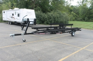 Wolverine 16 foot Pontoon Trailer All Star Bunk 2018