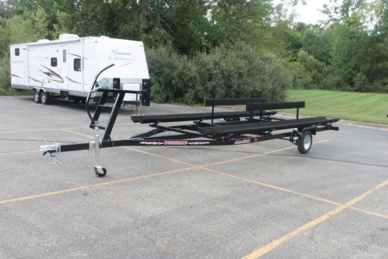 Wolverine 16 foot Pontoon Trailer All Star Bunk 2019 price Call Us