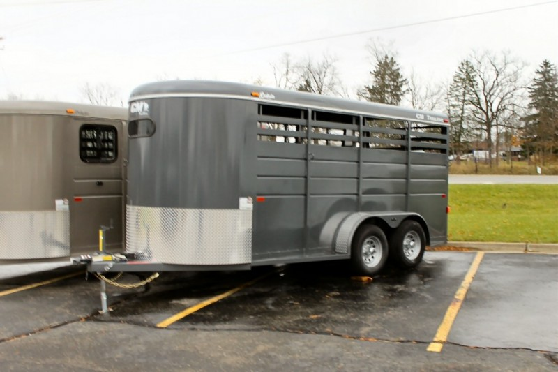 CM 16 Foot 3 Stall Horse Trailer 2019 price $7,200