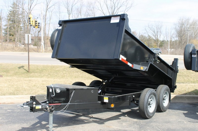 Quality Steel 6x10 Dump Trailer 7000# 2019 price call