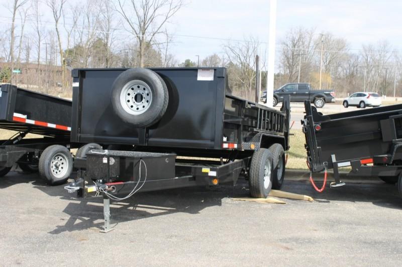 Quality Steel 83 x12' Dump Trailer 8000# 2019 price call