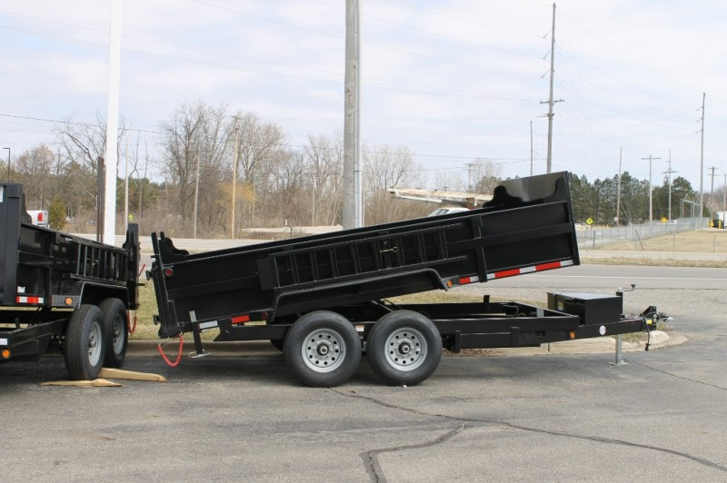 Quality Steel 83 x14' Dump Trailer 10000# 2019 price call