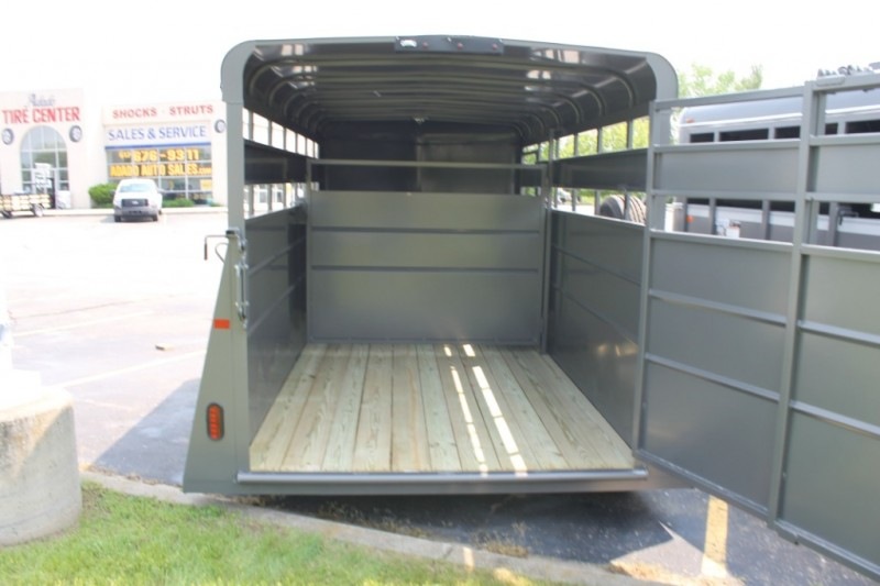 VALLEY 6'X16' LIVESTOCK TRAILER 2019 price $5,499