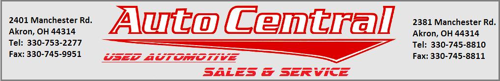 Auto Central. (330) 753-2277