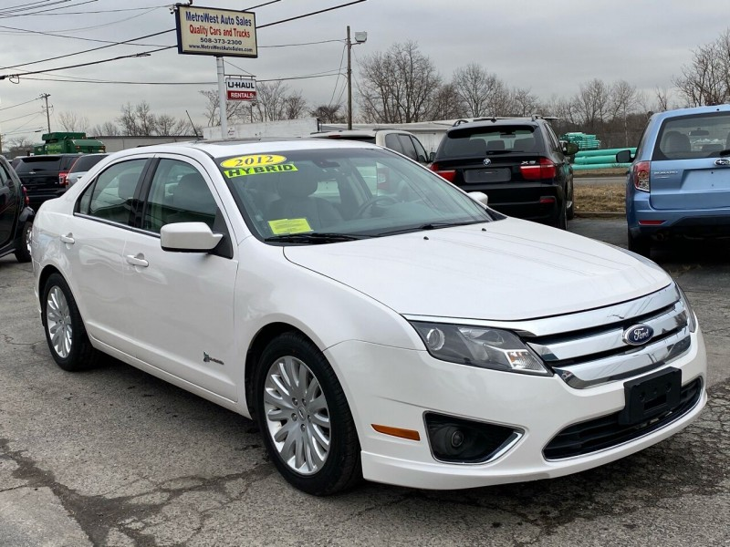 Ford Fusion Hybrid 2012 price $7,723