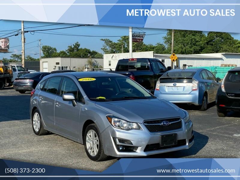 Subaru Impreza 2016 price $9,882