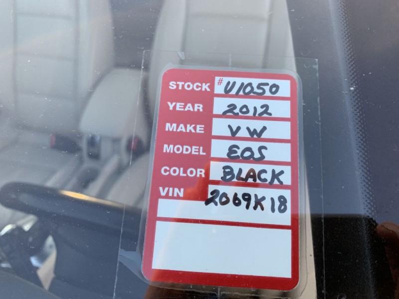VOLKSWAGEN EOS 2012 price $7,500