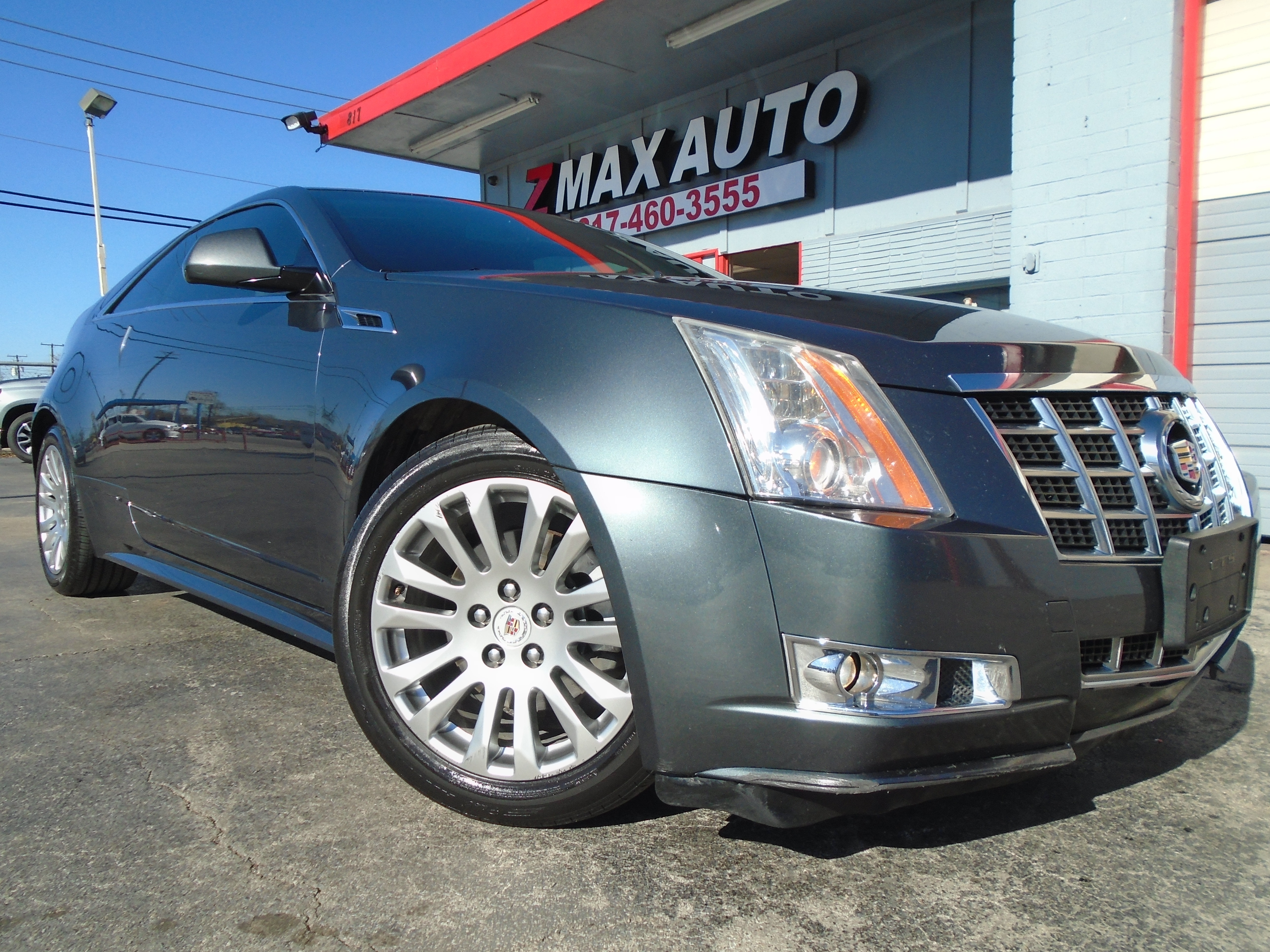 2013 Cadillac Cts Coupe >> 2013 Cadillac Cts Coupe 2dr Cpe Performance Awd