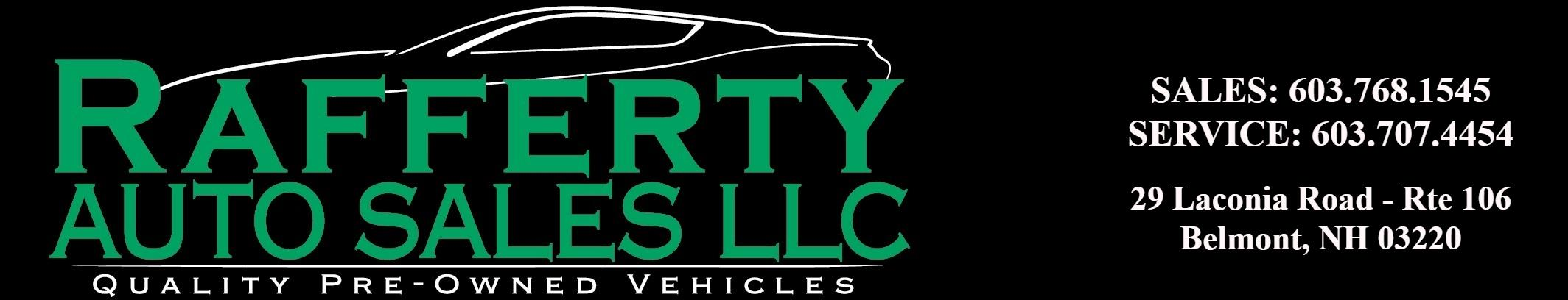 Rafferty Auto Sales LLC. (603) 460-4080