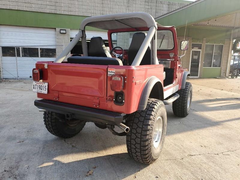 JEEP CJ7 1979 price