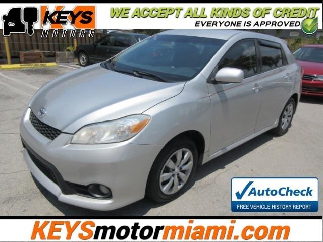 2011 Toyota Matrix Base Inventory Keys Motors Miami Auto