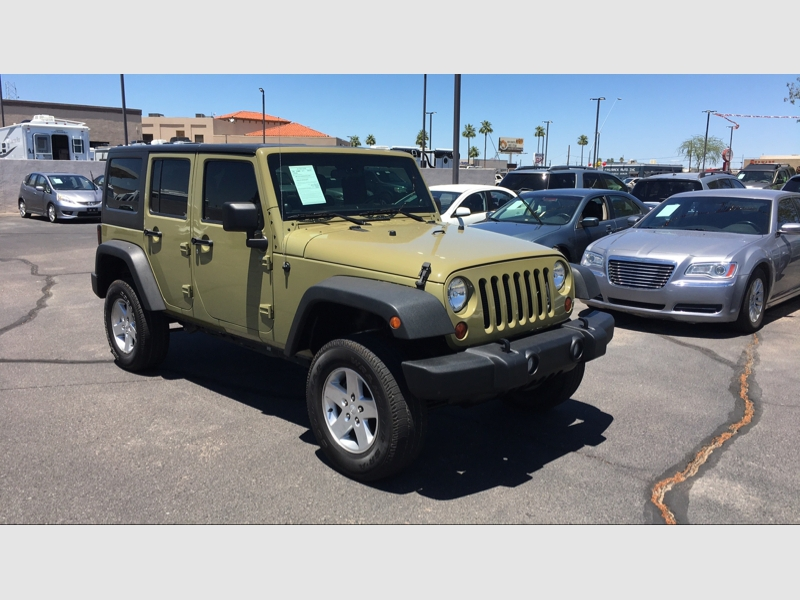 Jeep Wrangler Unlimited 2013 price $23,995