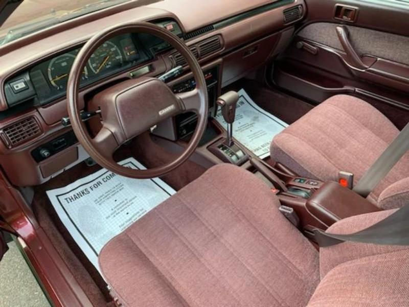 TOYOTA CAMRY 1988 price $3,495